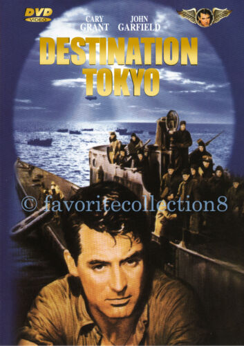 Destination Tokyo (1943) - Cary Grant, John Garfield, Alan Hale (Region All)
