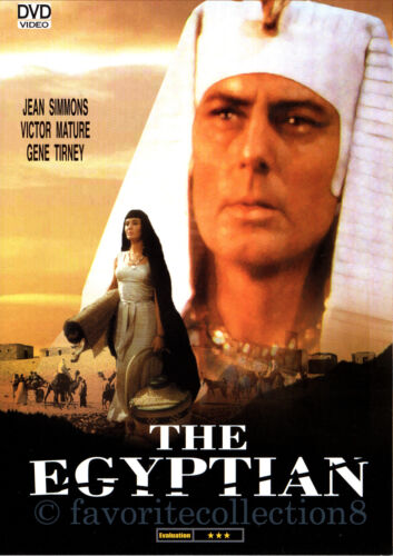 The Egyptian (1954) - Jean Simmons, Victor Mature (Region All)