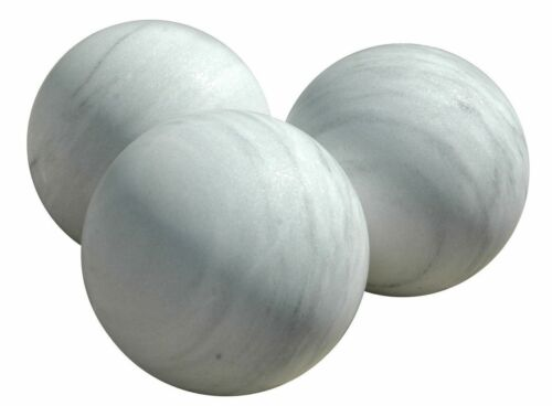 Grande Sfera in Marmo Bianco Antiques Classic Old White Marble Sphere Ball H35CM