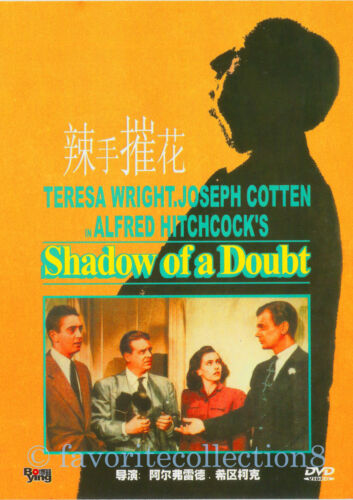 Shadow of a Doubt (1943) - Alfred Hitchcock, Teresa Wright - DVD NEW