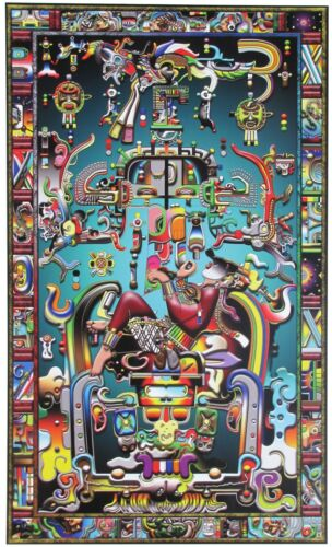 Pacal's Tomb Poster (in Mind Blowing Color!)