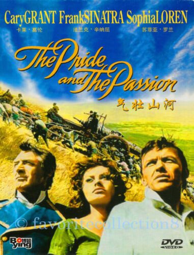The Pride and the Passion (1957) - Cary Grant, Sophia Loren - DVD NEW