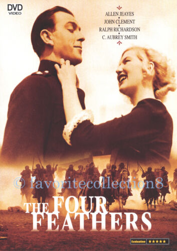 The Four Feathers (1939) - John Clements, Ralph Richardson - DVD NEW