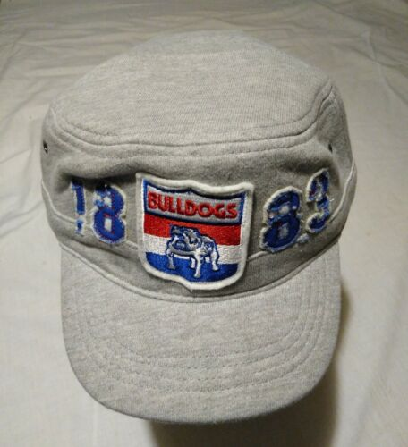 c154284c13d First 18 Official AFL Western Bulldogs Retro VFL Military Cap