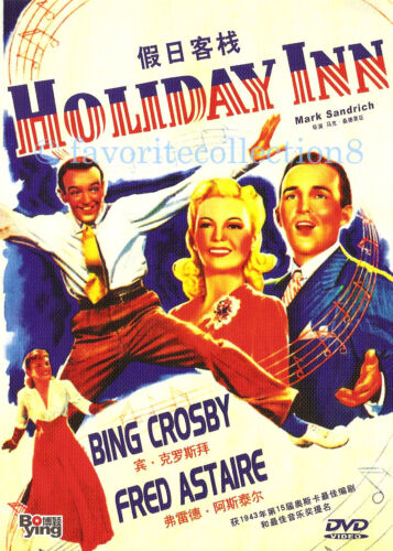 Holiday Inn (1942) - Bing Crosby, Fred Astaire - DVD NEW