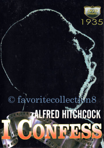 I Confess (1953) - Alfred Hitchcock, Montgomery Clift, Anne Baxter - DVD NEW