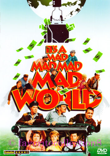 It's a Mad, Mad, Mad, Mad World (1963) - Spencer Tracy, Milton Berle - DVD NEW