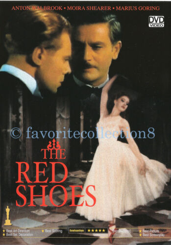 The Red Shoes (1948) - Anton Walbrook, Esmond Knight - DVD NEW