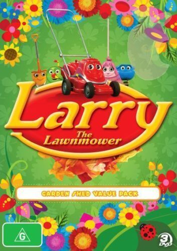 Larry The Lawnmower - Garden Shed Value Pack (DVD, 2011, 3-Disc Set) - Region 4