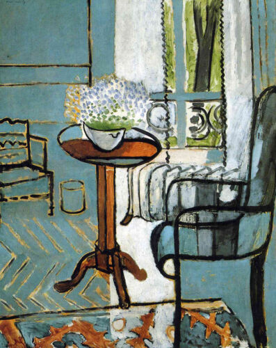 The Window  by Henri Matisse  Giclee Canvas Print Repro