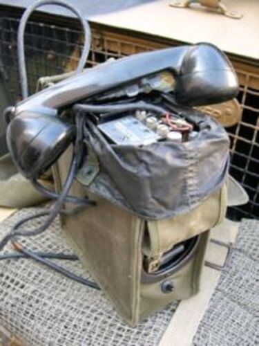 TELEPHONE DE CAMPAGNE US EE-8 WW2 TELEPHONE EE-8 WW2 US CAMPAIGN2nde guerre mondiale 39-45 - 100606