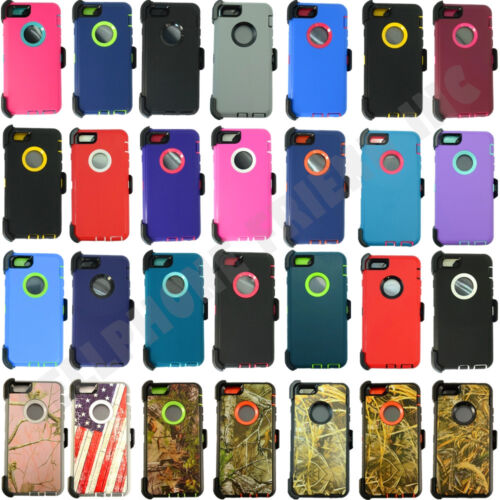 New Defender Case w/Screen Protector &Belt Clip For IPhone 6/6s/6+ plus/6s+ plus
