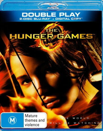The Hunger Games - Action / Violence - Jennifer Lawrence - 2 Disc NEW Bluray