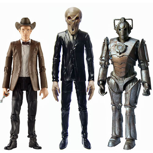 Doctor Who Eleventh Doctor Series Six Enemies 3 Pack Action Figures NEW Toys
