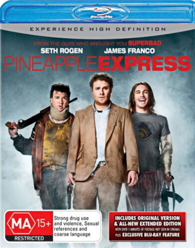 Pineapple Express - Action / Comedy - Seth Rogen, James Franco - NEW Blu-Ray