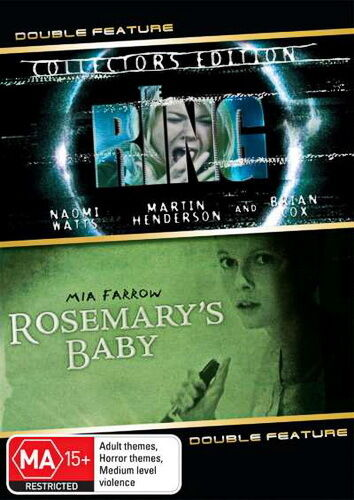 The Ring / Rosemarys Baby - NEW DVD