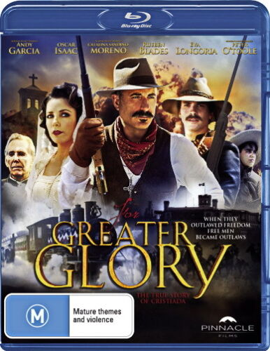 For Greater Glory - Action / True Story / Violence - Andy Garcia - NEW Blu-Ray