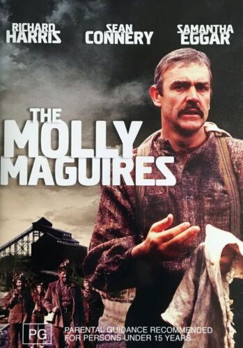 The Molly Maguires - Action / Drama / Crime Investigation / Violence - NEW DVD