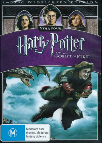 Harry Potter And The Goblet Of Fire - Adventure - Daniel Radcliffe - NEW DVD