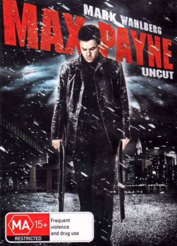 Max Payne - Action / Thriller / Mystery / Conspiracy - Mark Wahlberg - NEW DVD