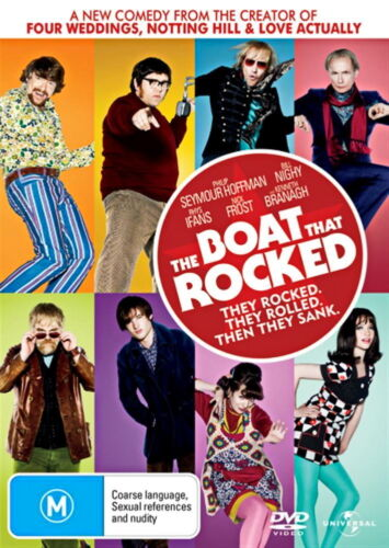 The Boat That Rocked - Comedy / Adventure - Philip Seymour Hoffman - NEW DVD