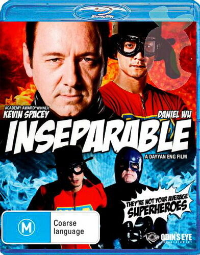 Inseparable - Action / Comedy / Coarse Language - Kevin Spacey - New Blu Ray