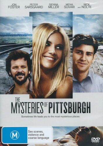 The Mysteries Of Pittsburgh - Adventure / Violence - Nick Nolte - NEW DVD