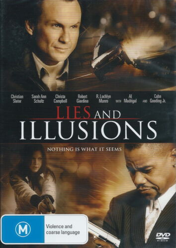 Lies And Illusions - Action / Thriller / Violence - Christian Slater - NEW DVD