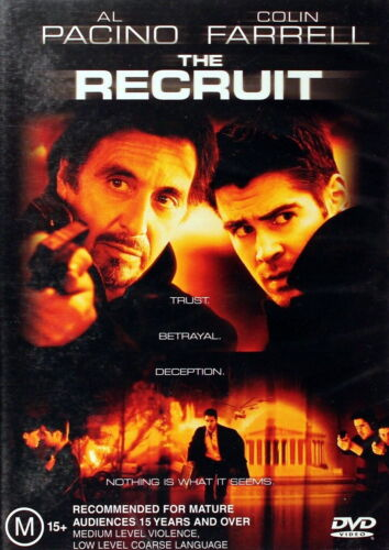 The Recruit - Action / Psychological Thriller - NEW DVD