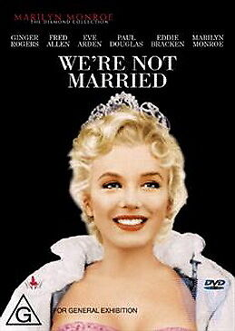 We're Not Married - NEW DVD