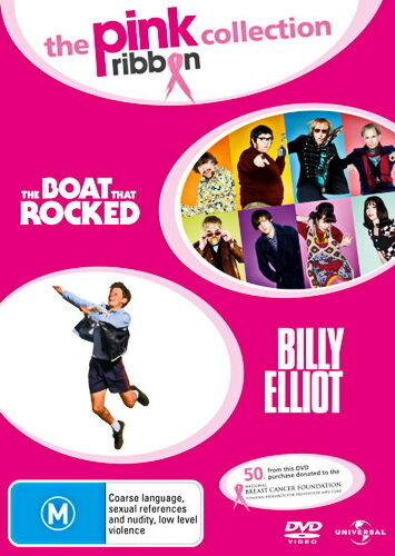 The Boat That Rocked - Billy Elliot - Comedy / Music / Drama - NEW DVD