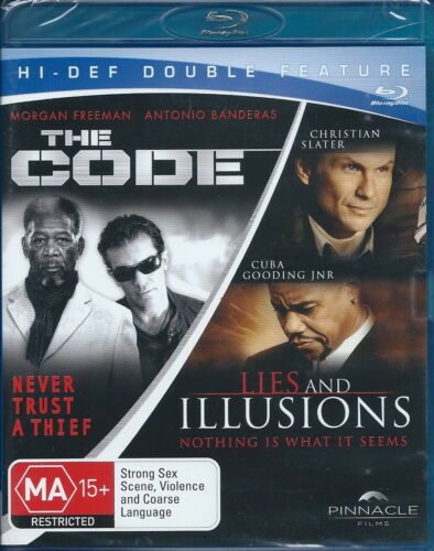The Code - Lies And Illusions - Action / Thriller / Violence - NEW Blu-Ray