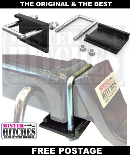 ANTI RATTLE HITCH BRACKET BALL MOUNT TONGUE TOW BAR TRAILER CAMPER <br/> STOP THAT ANNOYING HITCH RATTLE & CLUNKING NOISE