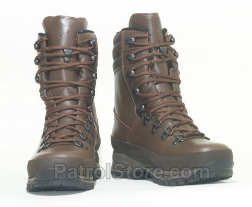 Genuine Lowa Combat Gore-Tex Brown Boot military cadet combat