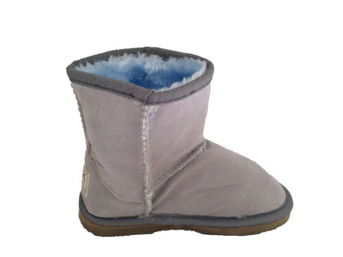 Kids Ugg Boots Classic Short, Synthetic Wool, Grey Colour on Special