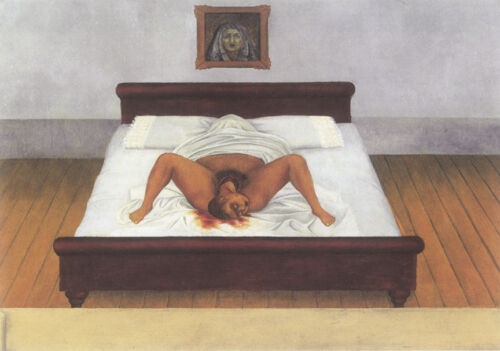 Birth  by Frida Kahlo  Giclee Canvas Print Repro