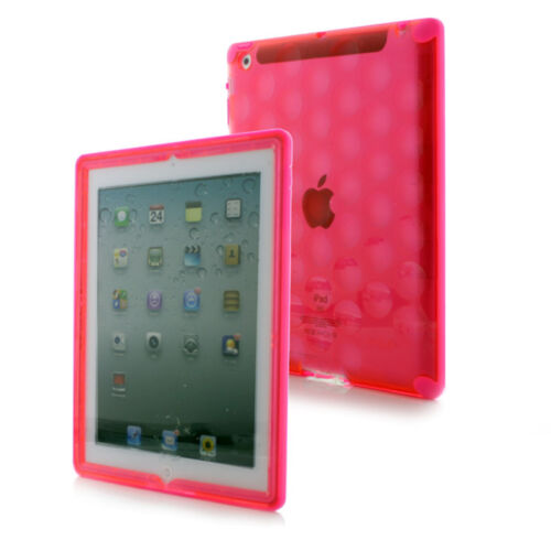 "Gumdrop Hardcandy Neon Bubble Case for iPad Air 9.7"" (2013 model), Pink"