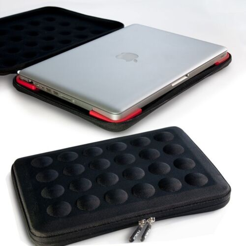 """Hard Bubble case for 13"""" laptop & macbook, hardtop cary sleeve with handle."""
