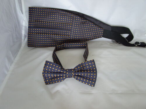 Shiny Polyester MINT Green Cummerbund /& Bow Tie Set/>P/&P 2UK/>1st Class-60 Colours