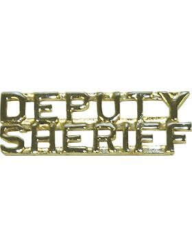 """Tie Tac (U-501G) Deputy on Top and Sheriff on Top Gold 1/4""""Other Militaria - 135"""
