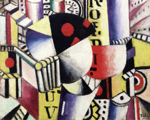 The Clock   by Leger Fernand   Giclee Canvas Print Repro