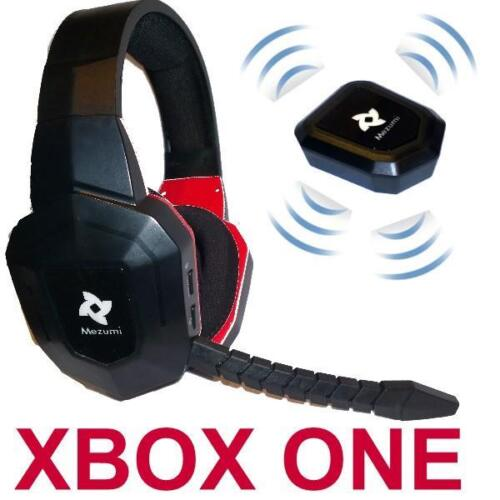Wireless Gaming Stereo Headphones microphone XBOX One Noise Reduction BRAND NEW