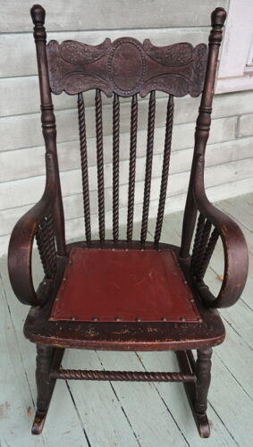 Childs Rocker Antiques Us