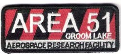 AREA 51 RESEARCH FACILITY PATCH - GDL03