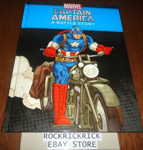 MARVEL CAPTAIN AMERICA A BATTLE STORY (A4 SIZE BOOK) -BRAND NEW-