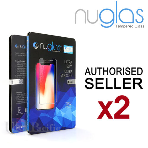 2x For Apple iPhone 12 11 Pro XS Max XR 8 Plus Tempered Glass Screen Protector