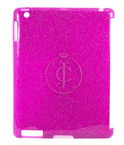 """Juicy Couture iPad 3rd Generation 10"""" Case - Pink Glitter Gelli"""
