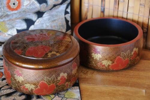 Vintage Japanese Lacquered Insulated Double Bowls… Bowls / Lunch / Servers...