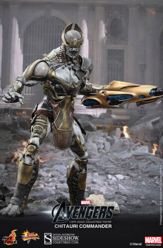 Hot Toys The Avengers: Chitauri Commander 1/6 Sixth Scale Figure NEW Marvel