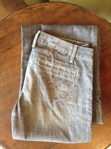 J and Company blue/grey womens jeans 28' 34L